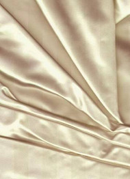 Noble Silk Duchess Satin Cream Fabric