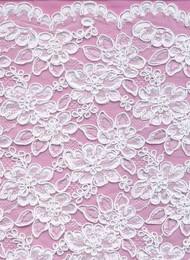 Alencon Lace BA0046NB White