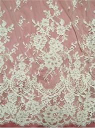 Alencon Lace AL6820C-MIV Ivory