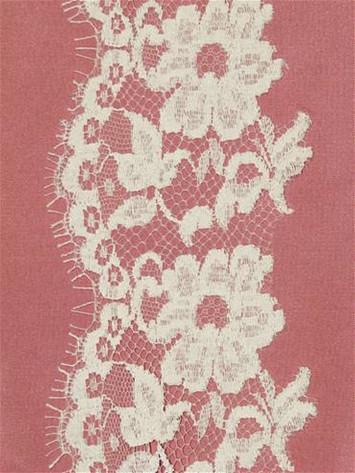 PB148639 Ivory Alencon Lace Trim