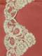 PB54165 Ivory Alencon Lace Trim