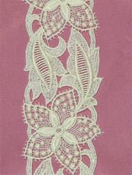 P-B4786 Venice Lace Trim Ivory