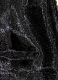 Black Crystal Organza