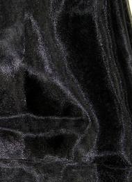 Black Crtstal Organza