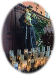 Light a Prayer Candle [at The Shrine of St. Anthony]
