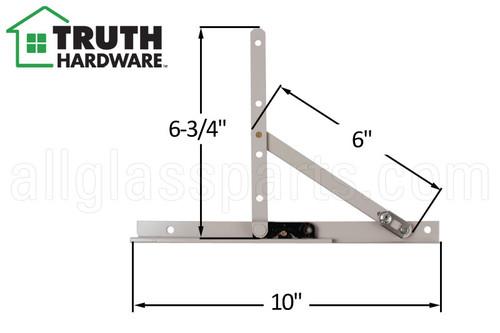 Awning Window Hinge (Truth Hardware 13.13) (10 inch track)