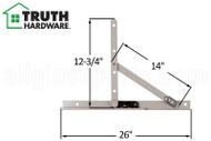 Awning Window Hinge Truth Hardware 13 13 10 Inch Track