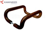 Back-to-back 'D' Handle Set (Kawneer) (9'') (Bronze)