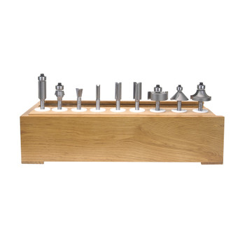 Amana 11-Piece Carbide Tipped Set 1/4 Inch Shank (AMS-111)