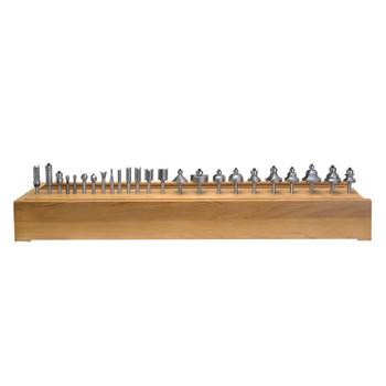 Amana 24-Piece Carbide Tipped Set 1/4 Inch Shank (AMS-124)