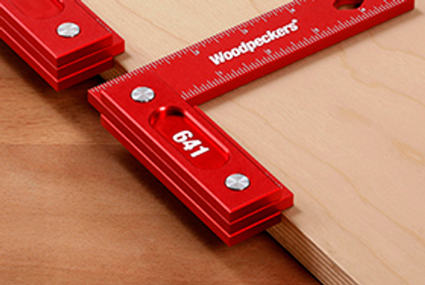 Woodpeckers | Model 641 -851 Precision Woodworking Square Combo (Inch Scale) (641851I)