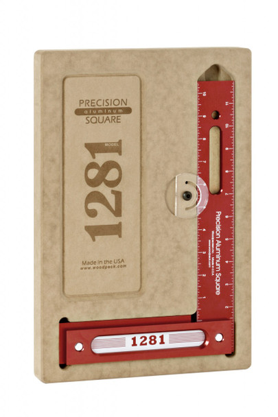 Woodpeckers 1281R-300 - 300mm Precision Woodworking Square (1281R-300)
