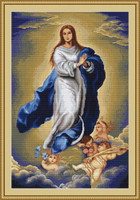 Immaculate Conception Petit Cross Stitch Kit By Luca S