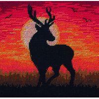 Magestic Sunset Cross Stitch Kit By Maia