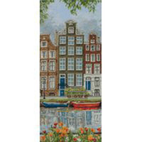 Amsterdam Street Cross Stitch Kit By Anchor