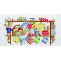 The Kitchen Shelf Cross Stitch Kit By Anchor