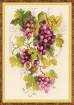 Grapevine Cross Stitch Kit by Riolis