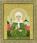 St Blessed Matrona of Moscow Cross Stitch Kit by Riolis