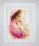 Mother with Child Cross Stitch Kit by Luca-S