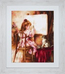 Artist and Model Cross Stitch Kit by Luca-S