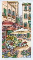 Flower Market Cross Stitch Kit by Janlynn