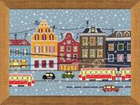 Tram Route Cross Stitch Kit by Riolis