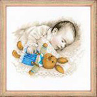 Sweet Dreams Cross Stitch Kit by Riolis