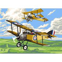 The Plane Tapestry Canvas By Royal Paris