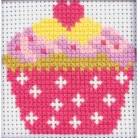 Cupcake Starter Cross Stitch Kit by Anchor