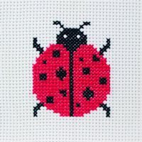 Lady Bird Starter Cross Stitch Kit by Anchor