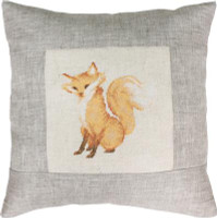 Fox Pillow Cross Stitch Kit by Luca-S