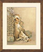 Arabian Women Cross Stitch Kit By Lanarte