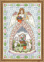 Kitty Angel Cross Stitch Kit by Design Works