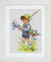 Bellflower Cross Stitch Kit by Luca-S