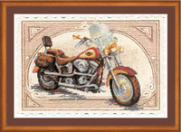 Harley Davidson Cross Stitch Kit by Riolis