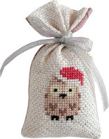 Owl Bag Cross Stitch Kit by Luca-S