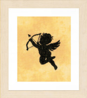 Cupid II Cross Stitch Kit by Lanarte