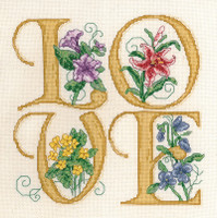 Love Cross stitch Chart by Ursula Michael