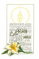 Lets Pray Cross Stitch Chart By Ursula Michael