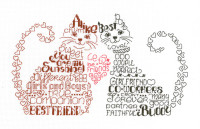 Lets be friends Cross Stitch Chart by Ursula Michael