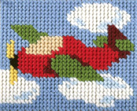My First Embroidery Needlepoint Kit In the Clouds By Orchidea