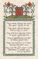 Irish Sampler Cross Stitch chart by Dianne Arthurs