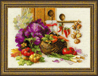 Rich Harvest Cross Stitch Kit by Riolis