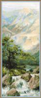 Mountain Stream Cross Stitch Kit by Riolis