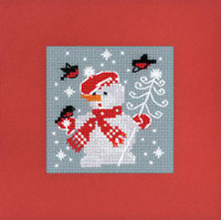 Winter Card Cross Stitch Kit by Riolis