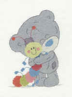 Tiny Tatty my friend my Caterpillar Cross Stitch Kit by DMC