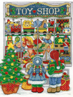 Christmas Toys - Cross Stitch Chart By Joan A Elliott
