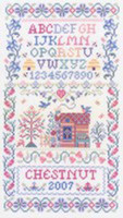 Spring Fever Cross Stitch pattern By Sandra Cozzolino
