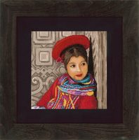 Counted Cross Stitch Kit: Peruvian Girl (Evenweave)