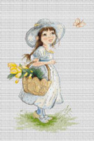 Tulips Cross Stitch Kit by Luca-s